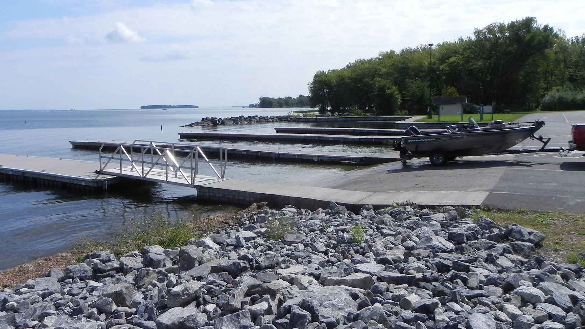Oneida Shores Boat Launch