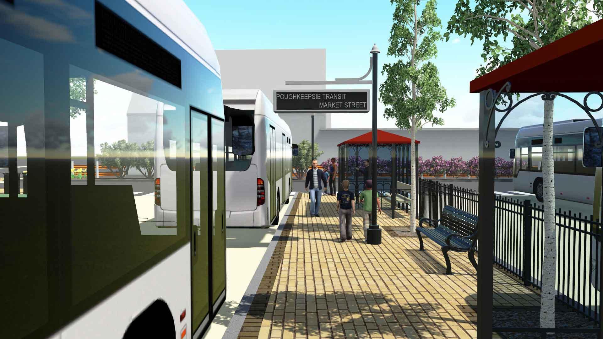 Poughkeepsie Transit Render