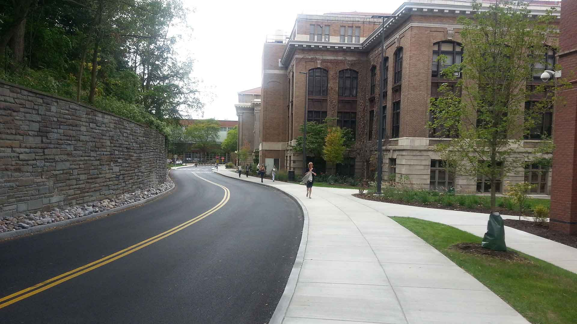 Syracuse University Sims Drive